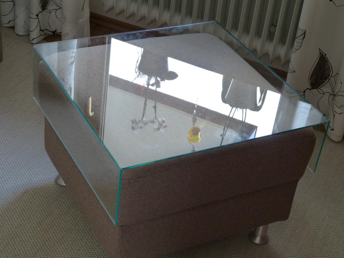 Glastische for Glas tische
