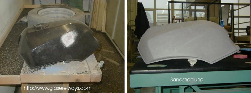 entrosten und entfernung von alten lacken. Black Bedroom Furniture Sets. Home Design Ideas